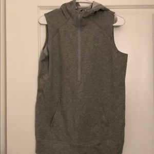 Nike Women's sleeveless hoodie size medium